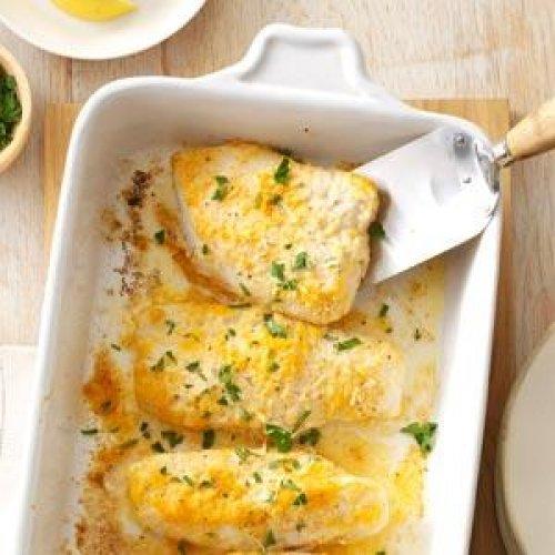 Bacalao al horno al limón